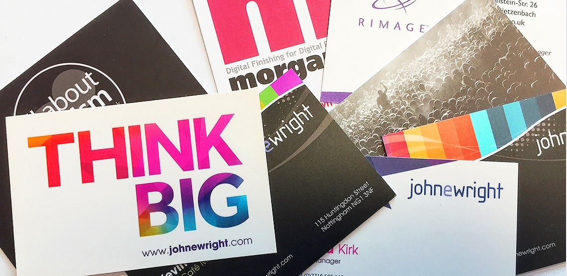 Business card printing design john e wright business cards image reheart Gallery